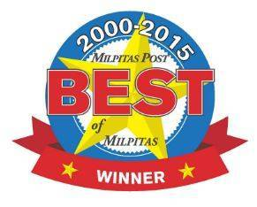 2015 Best of Milpitas Logo - Milpitas Optometric Group
